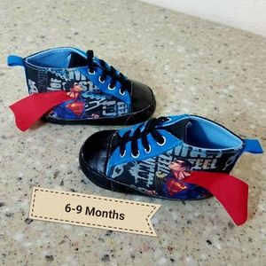 Other - DC Comics Superman booties shoes